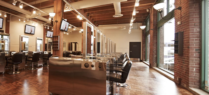 Novvo Etopa Salon/Spa Design of AVEDA INSTITUTE VANCOUVER - Vancouver, BC