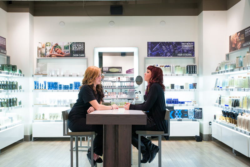 Novvo Etopa Salon/Spa Design of AVEDA INSTITUTE WINNIPEG - Winnipeg, MB