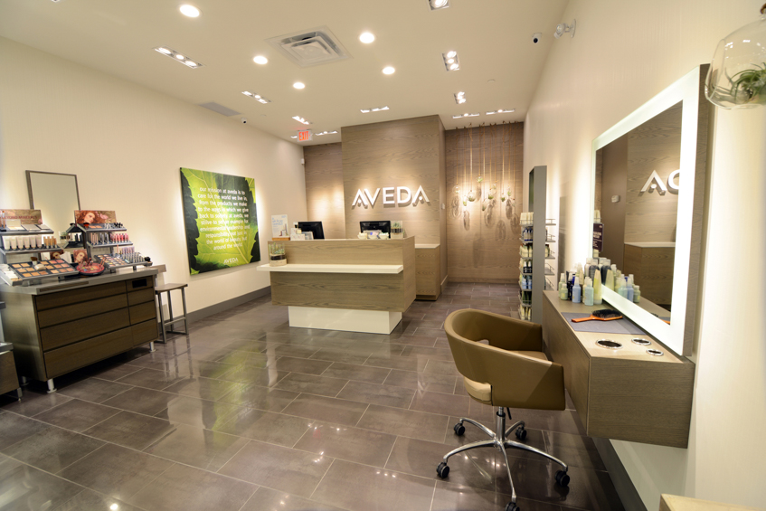 Novvo Etopa Salon/Spa Design of AVEDA EXPERIENCE CENTER BAYVIEW VILLAGE - Toronto, ON