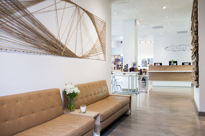 Novvo Etopa Salon/Spa Design of CIVELLO BELMONT - Chicago, IL