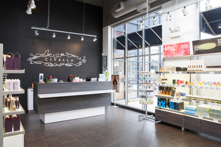 Novvo Etopa Salon/Spa Design of CIVELLO NORTH AVE - Chicago, IL
