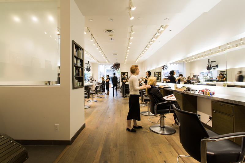 Novvo Etopa Salon/Spa Design of TONIC ROBSON - Vancouver, BC