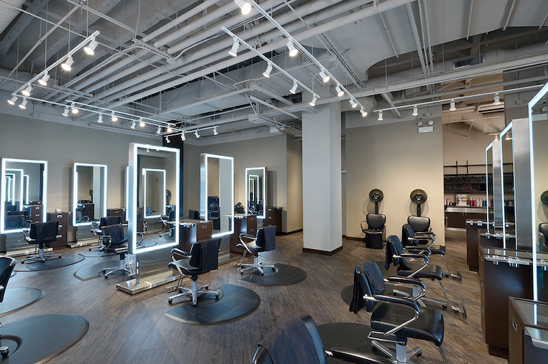 Novvo Etopa Salon/Spa Design of THOMAS WEST SALON - Chicago, IL