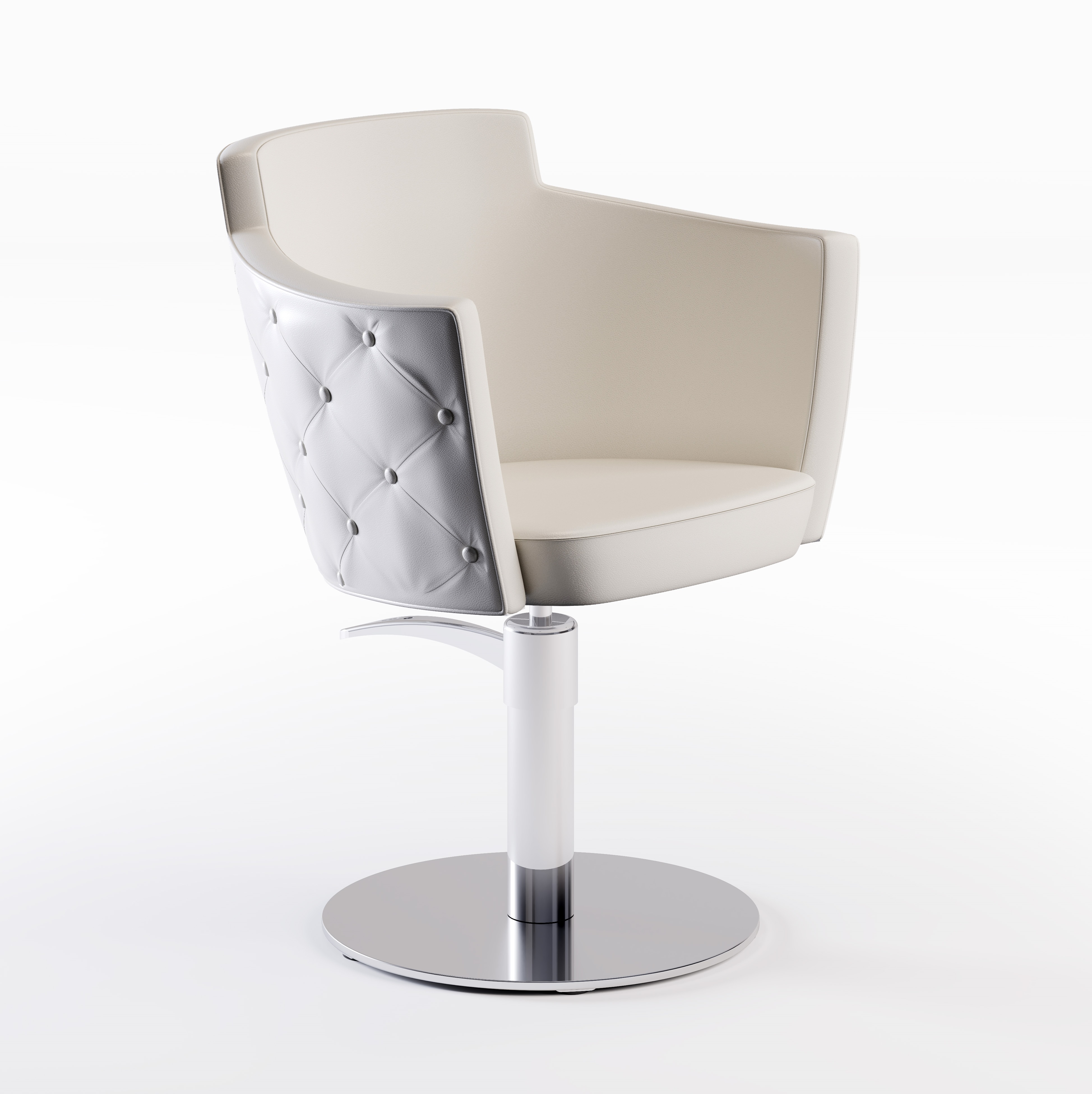 Cindarella Mademoiselle Styling Chair - Button Detail - Novvo Etopa
