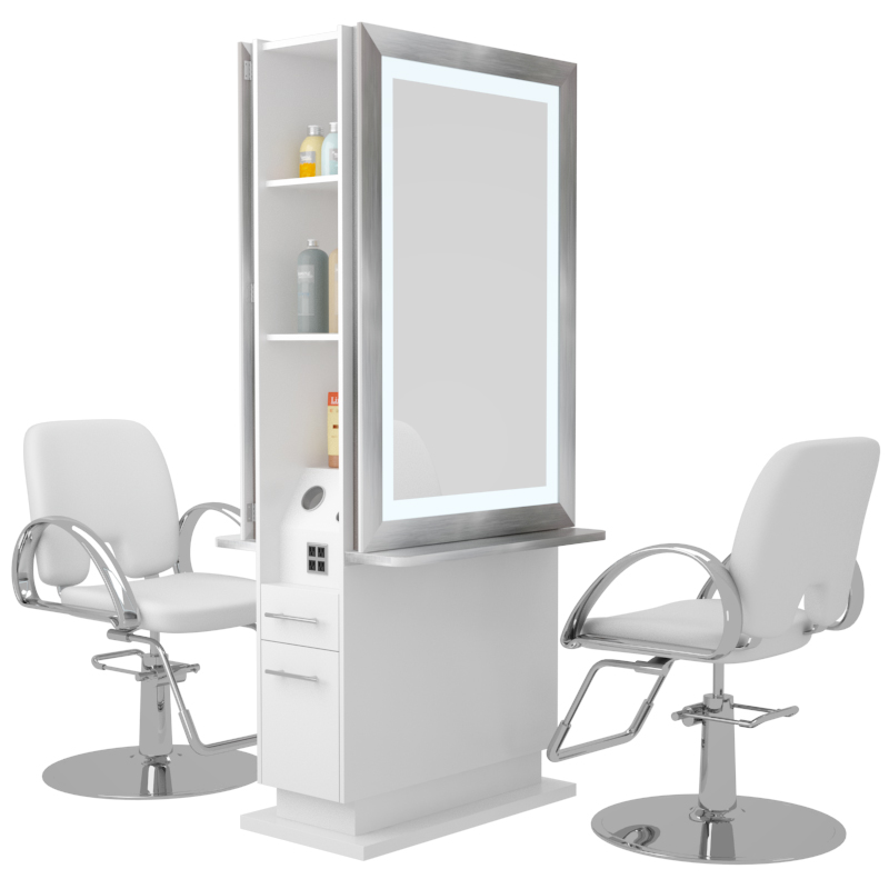 Double Sided Hair Styling Stations Novvo Etopa  Toronto Styling Stations